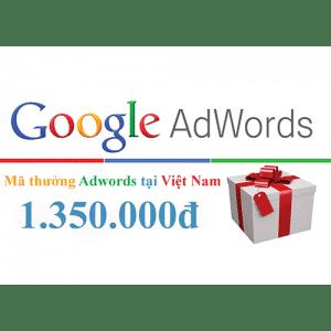 VOUCHER GOOGLE ADS TRỊ GIÁ 1350K 2